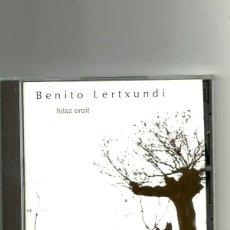 CDs de Música: BENITO LERTXUNDI. HITS OROIT. (CD ALBUM 1996). Lote 236019440