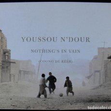 CDs de Música: YOUSSOU N'DOUR - NOTHING'S IN VAIN - CD -. Lote 236051315