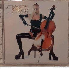 CDs de Música: ATROCITY – WERK 80 (FESTIVAL EDITION). Lote 236095130