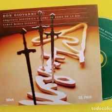 CDs de Música: MOZART, DON GIOVANNI II,CARLO MARIA GIULINI, 2006,ANIVERSAIO MOZART 12,EL PAÍS.COMO NUEVO (NM_NM). Lote 236106120
