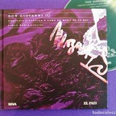 CDs de Música: MOZART, DON GIOVANNI I,CARLO MARIA GIULINI, 2006,ANIVERSAIO MOZART 11,EL PAÍS.COMO NUEVO (NM_NM). Lote 236106415
