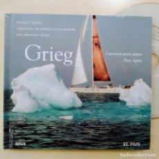 CDs de Música: GRIEG, PEER GYNT, CONCIERTO PARA PIANO,DIGIBOOK,2004 CLASICA EL PAÍS 40, COMO NUEVO (NM_NM). Lote 236107500