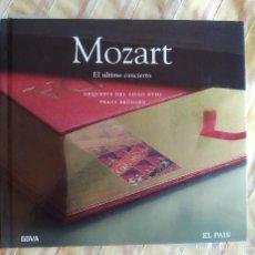 CDs de Música: MOZART, EL ÚLTIMO CONCIERTO,FRANS BRÜGGEN, DIGIBOOK, CLÁSICA EL PAÍS 39, COMO NUEVO (NM_NM). Lote 236108095