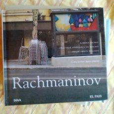 CDs de Música: RACHMANINOV, CONCIERTOS PARA PIANO,OWAIN ARWEL HUGHES,DIGIBOOK, CLÁSICA EL PAÍS 13,COMO NUEVO(NM_NM). Lote 236112500