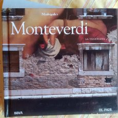 CDs de Música: MONTEVERDI, MADRIGALES, DIGIBOOK, CLÁSICA EL PAÍS 38,COMO NUEVO (NM_NM). Lote 236115780