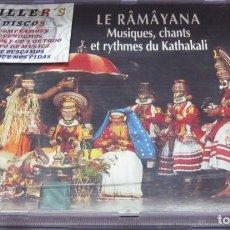 CDs de Música: LE RÂMÂYANA. MUSIQUES, CHANTS ET RYTHMES DU KATHAKALI - CD. Lote 236124420