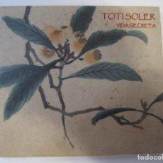 CDs de Música: CD TOTI SOLER VIDA SECRETA. Lote 236125195