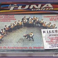 CDs de Música: LA TUNA CANTA - APAREJADORES DE MADRID - CD. Lote 236128845