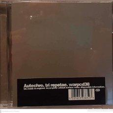 CDs de Música: AUTECHRE – TRI REPETAE. Lote 236145935