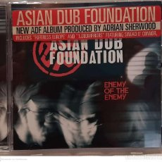 CDs de Música: ASIAN DUB FOUNDATION – ENEMY OF THE ENEMY. Lote 236149840