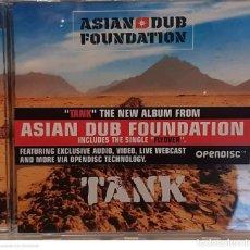 CDs de Música: ASIAN DUB FOUNDATION – TANK. Lote 236150140