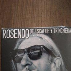 """CDs de Música: ROSENDO """" DE ESCALDE Y TRINCHERA """". 2007. WARNER MÚSIC SPAIN. NUEVO PRECINTADO.. Lote 236158675"""