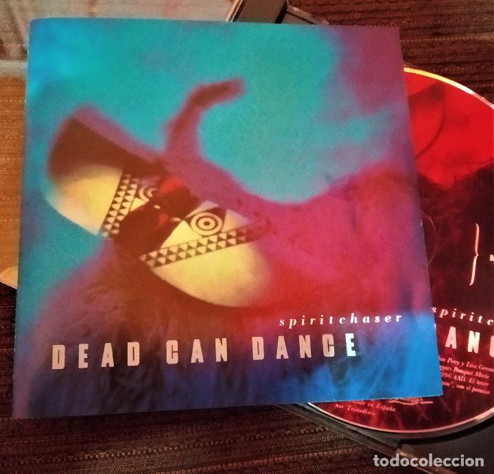 DEAD CAN DANCE, SPIRITCHASER. ESPAÑA 1996, LYRICON 21091, (EX_EX) (Música - CD's New age)