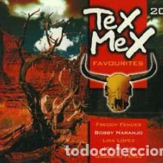 CDs de Música: VARIOUS - TEX MEX FAVOURITES (2XCD, COMP) LABEL:WETON-WESGRAM CAT#: KBOX 283. Lote 236226170