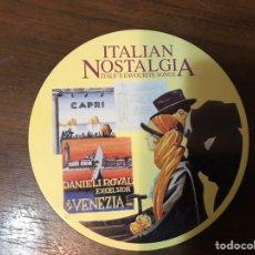 CD de Música: ITALIAN NOSTALGIA. ITALY'S FAVOURITES SONG. Lote 236248905