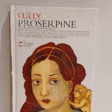 CDs de Música: LULLY / PROSERPINE / LOS CLÁSICOS DE LA ÓPERA-400 AÑOS / 22 / LIBRO-CD / PRECINTADO.. Lote 236250885