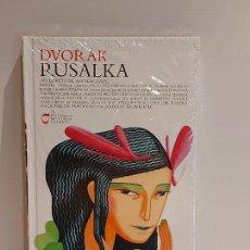 CDs de Música: DVORÁK / RUSALKA / LOS CLÁSICOS DE LA ÓPERA-400 AÑOS / 21 / LIBRO-CD / PRECINTADO.. Lote 236251080