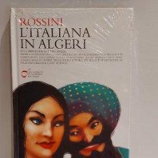 CDs de Música: ROSSINI / L'ITALIANA IN ALGERI / LOS CLÁSICOS DE LA ÓPERA-400 AÑOS / 29 / LIBRO-CD / PRECINTADO.. Lote 236251500