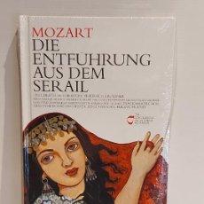 CDs de Música: MOZART / DIE ENTFÜHRUNG... / LOS CLÁSICOS DE LA ÓPERA-400 AÑOS / 28 / LIBRO-CD / PRECINTADO.. Lote 236251935