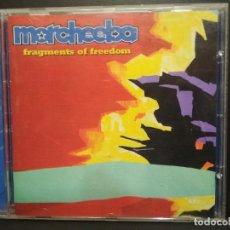 CDs de Música: MORCHEEBA - FRAGMENTS OF FREEDOM CD ALBUM 2000 PEPETO. Lote 236263235