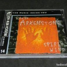 CDs de Música: CD - DAVID ARKENSTONE - SPIRIT WIND - LO MEJOR DE LA MÚSICA NEW AGE 14. Lote 236268210