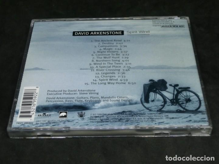 CDs de Música: CD - DAVID ARKENSTONE - SPIRIT WIND - LO MEJOR DE LA MÚSICA NEW AGE 14 - Foto 2 - 236268210