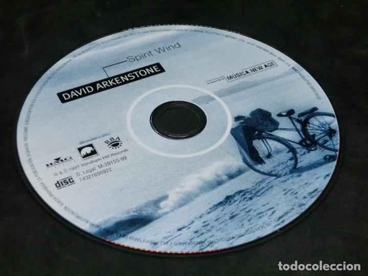 CDs de Música: CD - DAVID ARKENSTONE - SPIRIT WIND - LO MEJOR DE LA MÚSICA NEW AGE 14 - Foto 6 - 236268210