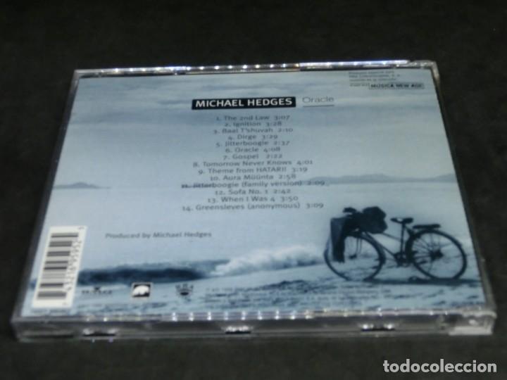 CDs de Música: CD - MICHAEL HEDGES - ORACLE - LO MEJOR DE LA MÚSICA NEW AGE 16 THE MUSIC INSIDE YOU - Foto 2 - 236268615