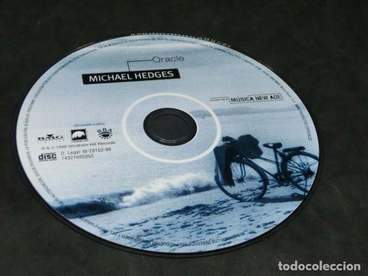 CDs de Música: CD - MICHAEL HEDGES - ORACLE - LO MEJOR DE LA MÚSICA NEW AGE 16 THE MUSIC INSIDE YOU - Foto 6 - 236268615