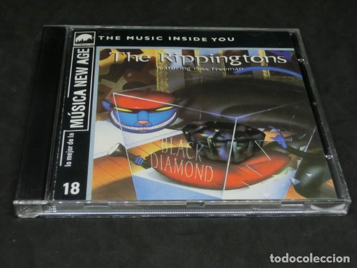 CD -THE RIPPINGTONS FEATURING RUSS FREEMAN - BLACK DIAMOND - LO MEJOR DE LA MÚSICA NEW AGE 18 (Música - CD's New age)