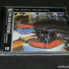 CDs de Música: CD -THE RIPPINGTONS FEATURING RUSS FREEMAN - BLACK DIAMOND - LO MEJOR DE LA MÚSICA NEW AGE 18. Lote 236269595