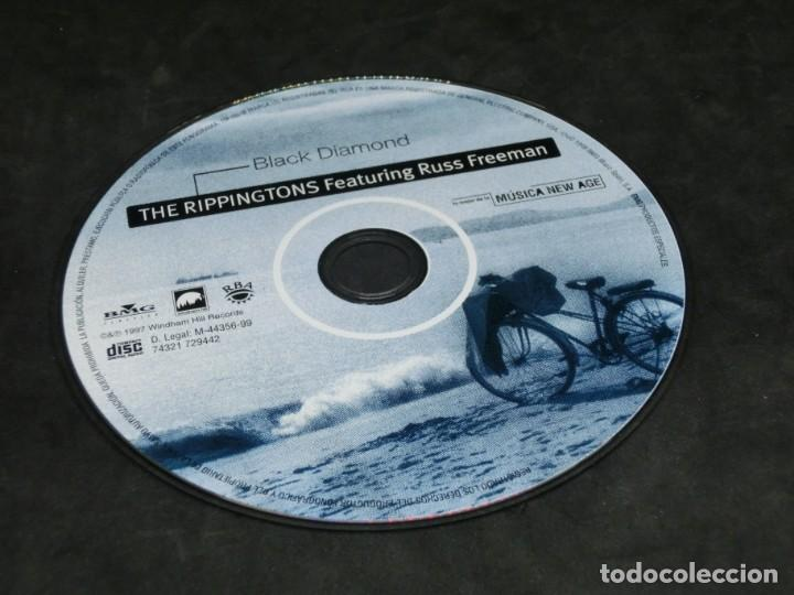 CDs de Música: CD -THE RIPPINGTONS FEATURING RUSS FREEMAN - BLACK DIAMOND - LO MEJOR DE LA MÚSICA NEW AGE 18 - Foto 6 - 236269595