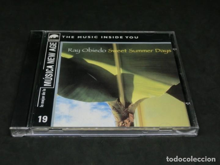 CD - RAY OBIEDO - SWEET SUMMER DAYS - LO MEJOR DE LA MÚSICA NEW AGE 19 (Música - CD's New age)