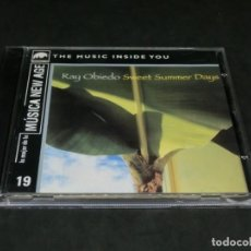 CDs de Música: CD - RAY OBIEDO - SWEET SUMMER DAYS - LO MEJOR DE LA MÚSICA NEW AGE 19. Lote 236269805