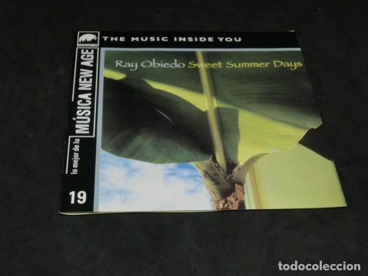 CDs de Música: CD - RAY OBIEDO - SWEET SUMMER DAYS - LO MEJOR DE LA MÚSICA NEW AGE 19 - Foto 3 - 236269805