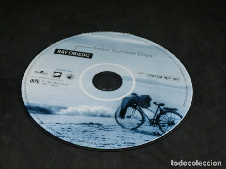CDs de Música: CD - RAY OBIEDO - SWEET SUMMER DAYS - LO MEJOR DE LA MÚSICA NEW AGE 19 - Foto 6 - 236269805