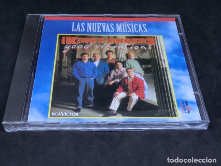 THE KING'S SINGERS - GOOD VIBRATIONS - LAS NUEVAS MÚSICAS - 1992 -1996 - CD (Música - CD's New age)