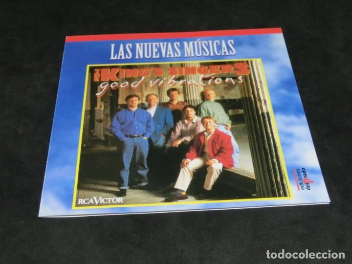CDs de Música: THE KINGS SINGERS - GOOD VIBRATIONS - LAS NUEVAS MÚSICAS - 1992 -1996 - CD - Foto 3 - 236271265