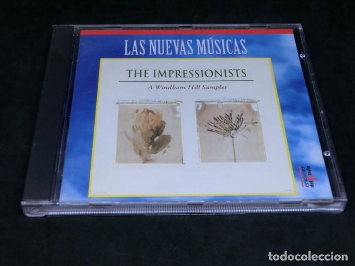 THE IMPRESSIONISTS - A WINDHAM HILL SAMPLER - LAS NUEVAS MÚSICAS 1992 - CD 1995 (Música - CD's New age)