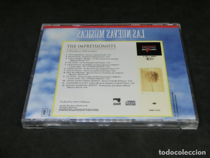 CDs de Música: THE IMPRESSIONISTS - A WINDHAM HILL SAMPLER - LAS NUEVAS MÚSICAS 1992 - CD 1995 - Foto 2 - 236272520