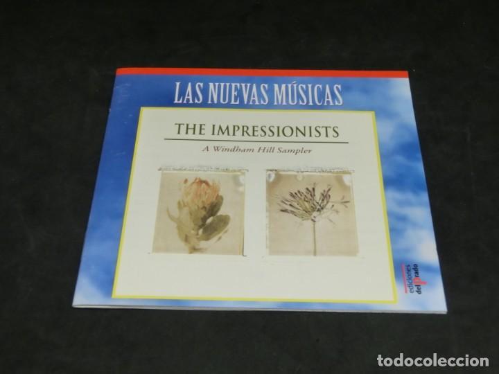 CDs de Música: THE IMPRESSIONISTS - A WINDHAM HILL SAMPLER - LAS NUEVAS MÚSICAS 1992 - CD 1995 - Foto 3 - 236272520