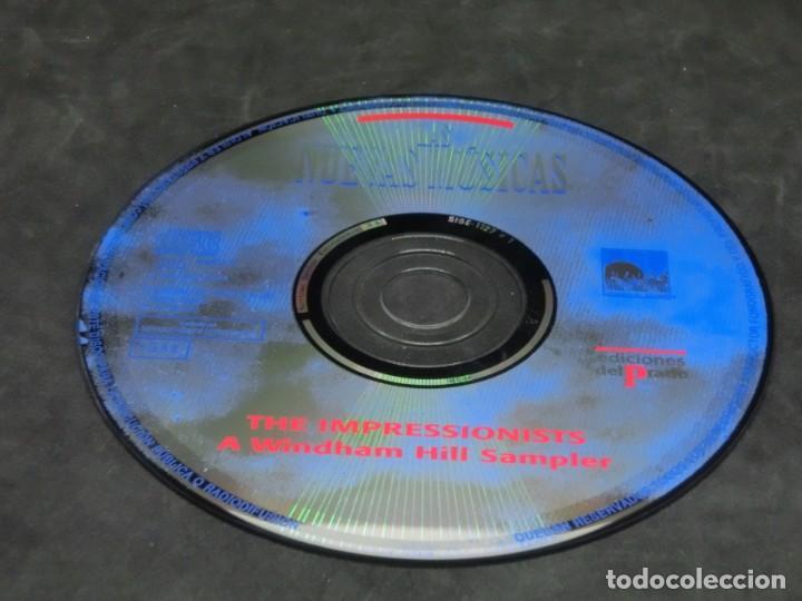 CDs de Música: THE IMPRESSIONISTS - A WINDHAM HILL SAMPLER - LAS NUEVAS MÚSICAS 1992 - CD 1995 - Foto 6 - 236272520
