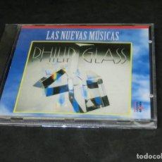 CDs de Música: PHILIP GLASS - GLASSWORKS - LAS NUEVAS MÚSICAS 1992 - CD 1995. Lote 236272695
