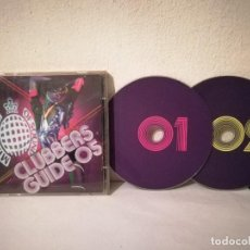 CDs de Música: CD DOBLE ORIGINAL - CLUBBERS GUIDE 05 - HOUSE - MINISTRY OF SOUNDS. Lote 236275585