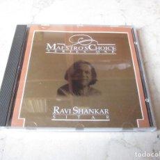 CDs de Música: RAVI SHANKAR - MAESTRO´S CHOICE SERIES ONE CD - MUSIC TODAY 1991. Lote 236291395