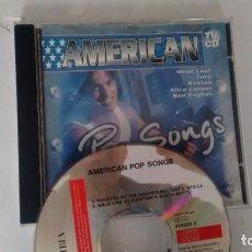 CDs de Música: CD-ALBUM DE VARIOS AMERICAN POP SONGS. Lote 236301335