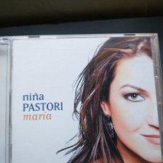 CDs de Música: NIÑA PASTORI CD. Lote 236319395