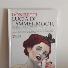 CDs de Música: DONIZETTI / LUCIA DI LAMMERMOOR / LOS CLÁSICOS DE LA ÓPERA-400 AÑOS / 17 / LIBRO-CD / PRECINTADO.. Lote 254985035