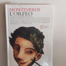 CDs de Música: MONTEVERDI / L'ORFEO / LOS CLÁSICOS DE LA ÓPERA-400 AÑOS / 25 / LIBRO-CD / PRECINTADO.. Lote 254985095
