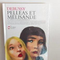 CDs de Música: DEBUSSY / PELLÉAS ET MÉLISANDE / LOS CLÁSICOS DE LA ÓPERA-400 AÑOS / 24 / LIBRO-CD / PRECINTADO.. Lote 254985160